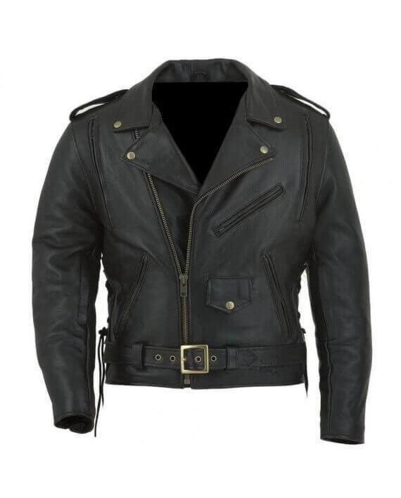 blouson cuir moto perfecto vendre cuir biker zolki harley. Black Bedroom Furniture Sets. Home Design Ideas
